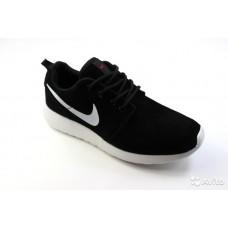 Nike Roshe Run hyp prm QS черный/белый замша